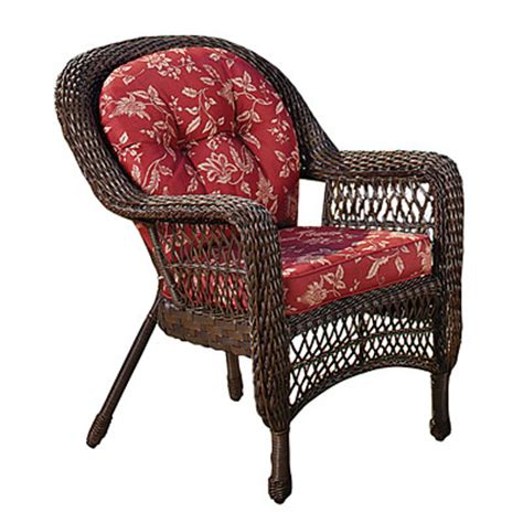 view wilson fisher 174 resin wicker cushioned