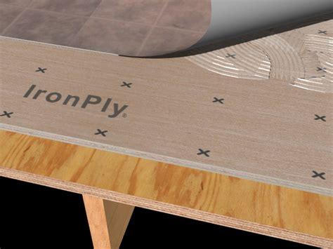 Hardwood Plywood Underlayment Products