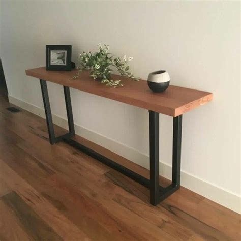 tolix stool console table lumber furniture