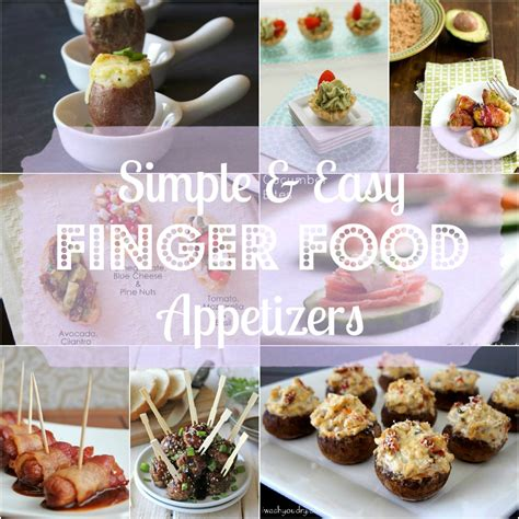 cuisine appetizer saturday morning roundup finger food appetizers