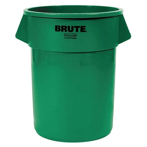 32 Gallon Rubbermaid Green Recycling Container   Stericycle