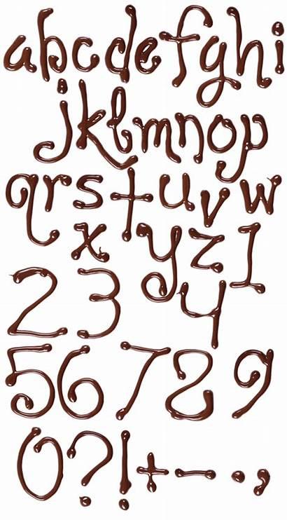 Font Chocolate Sweet Handmadefont Fonts Alphabet Write