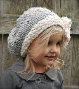 Child Size Slouch Hat Free Crochet Pattern