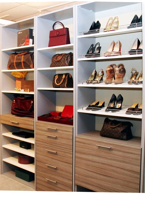 fancy accents at walk in closet for that installing
