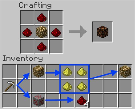minecraft redstone l recipe how do you make a redstone l design de maison