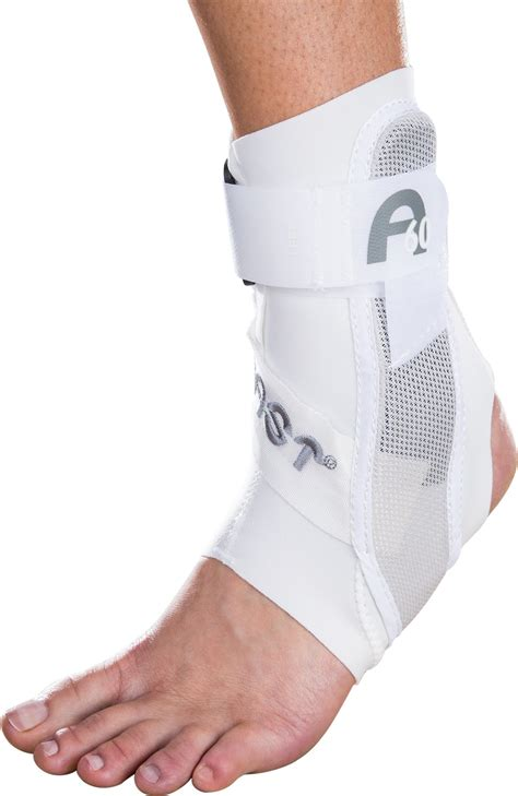 ankle support aircast a60 ankle support brace right foot black medium shoe size s 7 5