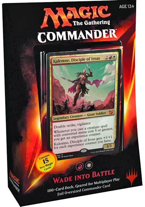 precon commander decks 2015 top 5 mtg commander 2015 decks reactor