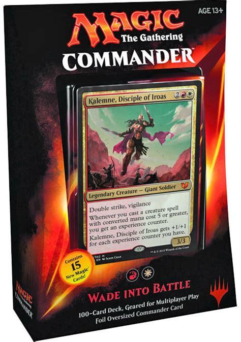 Top 5 Mtg Commander 2015 Decks  Nerd Reactor