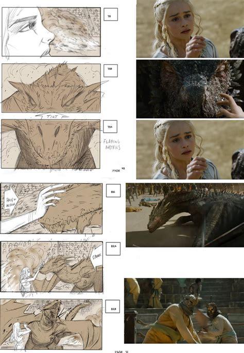 Movie Storyboard check   epic game  thrones storyboard art 800 x 1159 · jpeg