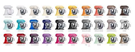 Die Kitchenaid Farben