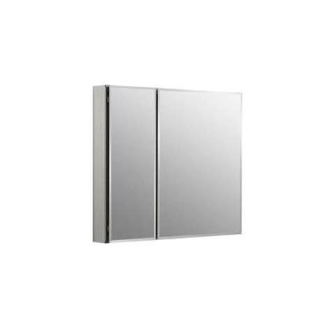 home depot kohler recessed medicine cabinet kohler 30 in w x 26 in h two door recessed or surface
