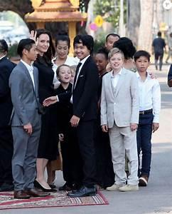 Pax, Knox, Maddox, Zahara et Shiloh Jolie-Pitt - Angelina ...