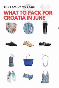 Summer Travel Capsule Wardrobe: What to Pack for Croatia ...