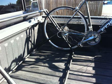 Bike Rack For Bed by Pvc Bike Rack Plans