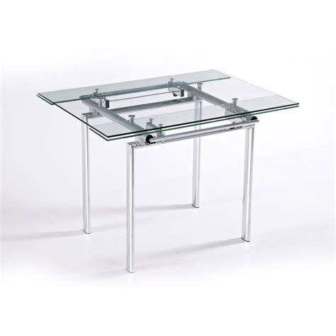 table de cuisine avec rallonges table verre avec rallonge