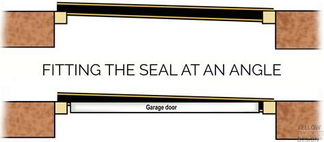 Garage Door Seal (25mm High) For Uneven Floors   Weather Stop