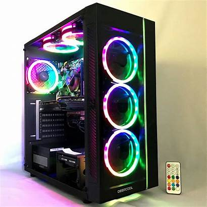 Rgb Pc Gaming Computer Desktop Fan Vr