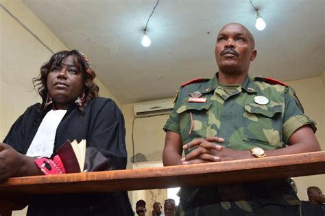 For St Time Dr Congo General Convicted Of Rape Also