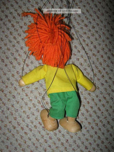 pumuckl marionette holz  cm puppe pumuckel