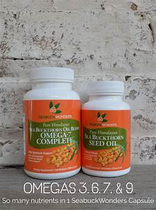 Our Sea Buckthorn Oil Capsules Have An Enormous Amount Of