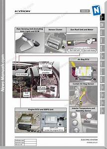 Ssangyong Kyron Electrical Manuals
