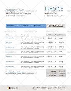 26 best invoices images on pinterest invoice sample for With invoice format in html design