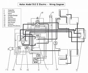 2000 Yamaha Electric Golf Cart Wiring Diagram