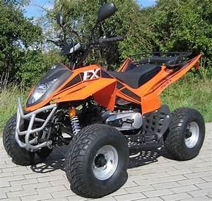 Quad Homologu U00e9 Fuxin 150 Fx Orange