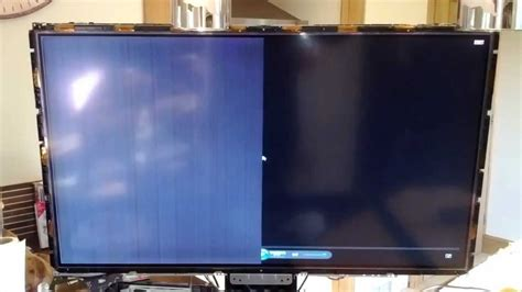 fix horizontal  vertical lines  lcd tv youtube