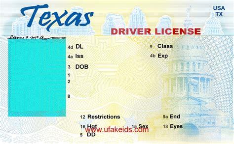 texas fake id new drivers license template beepmunk