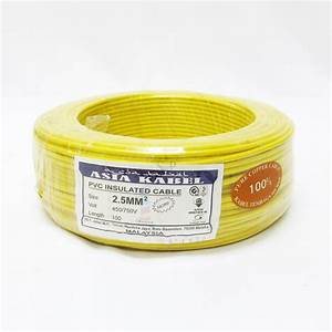 Asia Kabel Pure Copper 2 5mm Pvc Insulated Non