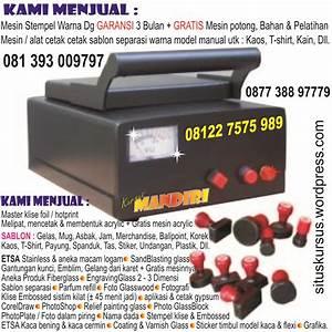 Kursus   Plakat Acrylic  U0026 Fiber  Sablon Gelas  U0026 Mug