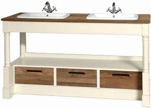 Meuble Vasque Salle De Bain Bois : meuble vasque salle bain bois accueil design et mobilier ~ Teatrodelosmanantiales.com Idées de Décoration