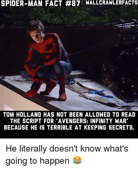 Avengers Infinity War Memes - 25 best memes about keeping secrets keeping secrets memes
