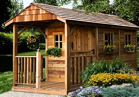 Backyard Outbuildings by Backyard Sheds 8x12 Santa Rosa Garden Outdoor Living Today