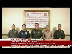Thailand Army Announces Military Coup On Live TV, Country ...