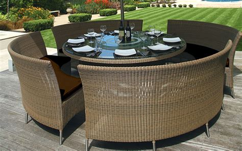 round table patio set outdoor patio table mezzo round