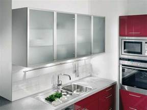 cheap kitchen ideas for small kitchens 20 beautiful kitchen cabinet designs with glass