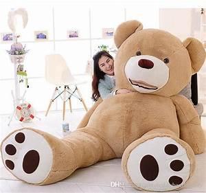 2018 2016 Giant Teddy Bear 260cm/102 Huge Big Stuffed ...
