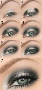 Smokey Eyes Blaue Augen : sch n geschminkte augen zum nachmachen 40 bilder ~ Frokenaadalensverden.com Haus und Dekorationen