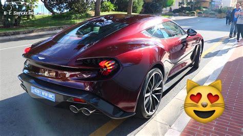 Aston Martin Vanquish Zagato V12 Sound  Start Up ! Youtube