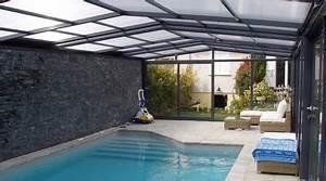 prix d39une piscine couverte cout de construction With prix d une piscine creusee couverte