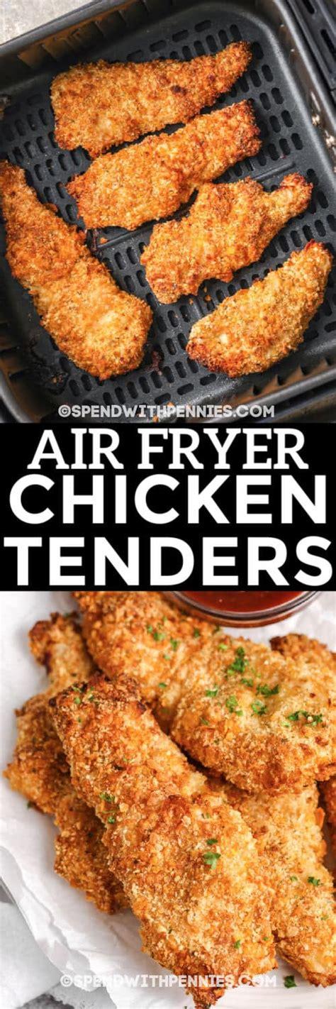 fryer chicken air tenders breaded
