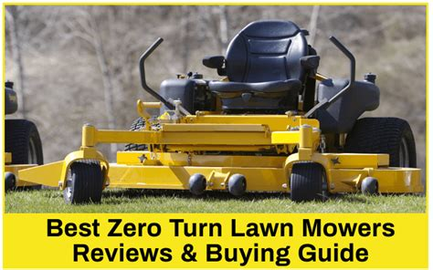 zero turn lawn mower mowers money buying