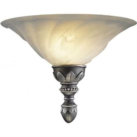 oxford wall washer wall light traditional pewter marbled