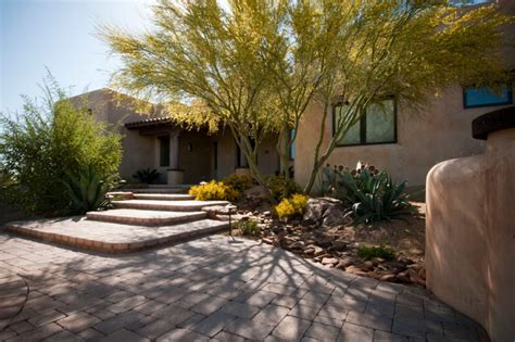 arid landscape design arid entryway in tucson contemporary landscape phoenix by santa rita landscaping inc
