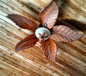 wood leaf ceiling fan cool beachy home ideas ceiling fans fans and ceilings