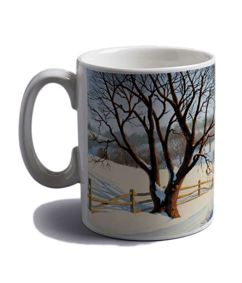 This is our signature blend of premium gourmet coffees that make a rich, delicious cup. Artifa Beautiful Scenery Coffee Mug - 350ml: Buy Online at Best Price in India - Snapdeal