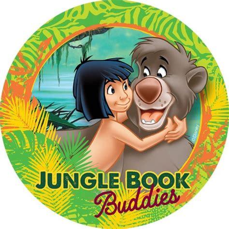 jungle book  edible icing cake image kids themed