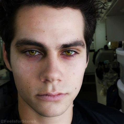 dylan o brien eyes dylan o brien as nogitsune stiles his eyes holy scary